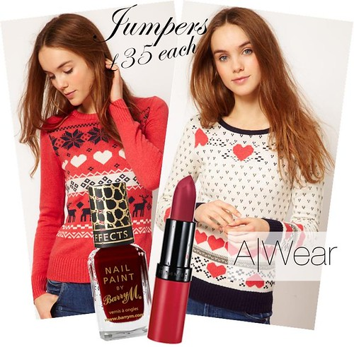 A wear festive jumpers