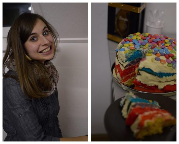Dois&Rainbowcake