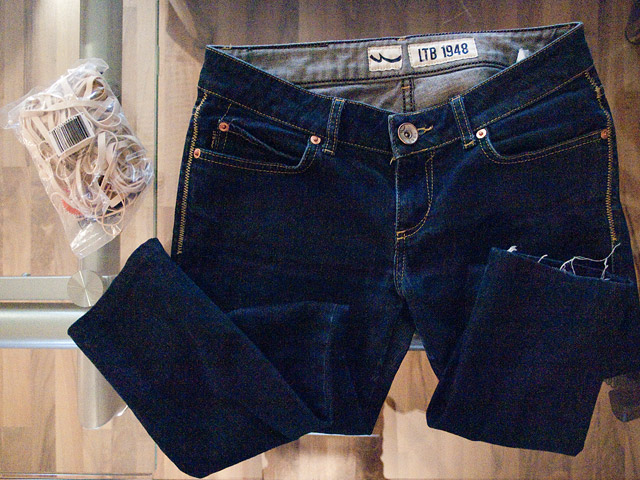 Tie-Dye Bleached Denim DIY: Supplies