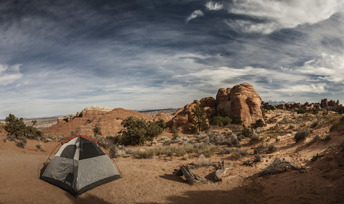 Our Campsite in Arches