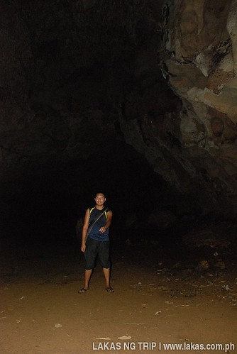 Inside Igang Cave at Tabon Caves Complex in Lipuun Point, Quezon, Palawan