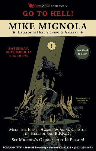 Mike Mignola @ Things From Another World