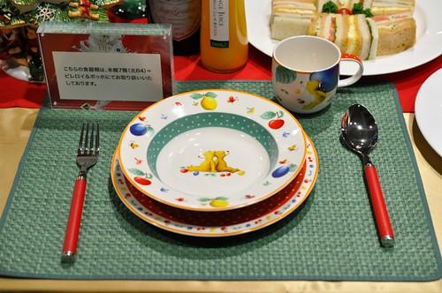 西武池袋本店 クリスマス 食器