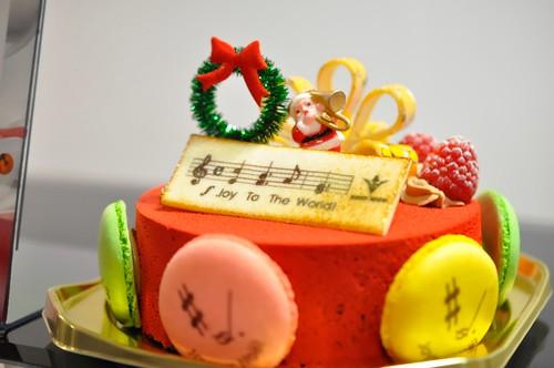 西武池袋本店 クリスマスケーキ ブールミッシュ Joy to the world