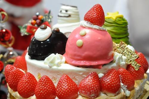 西武池袋本店 クリスマスケーキ ケーニヒスクローネ ファミリークリスマス