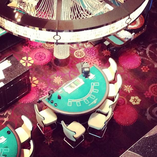 Blackjack Table, Cosmopolitan