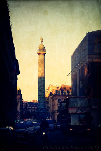 Sunset ~ Place Vendome