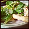 #dinnergram :) chicken Caesar salad pizza!