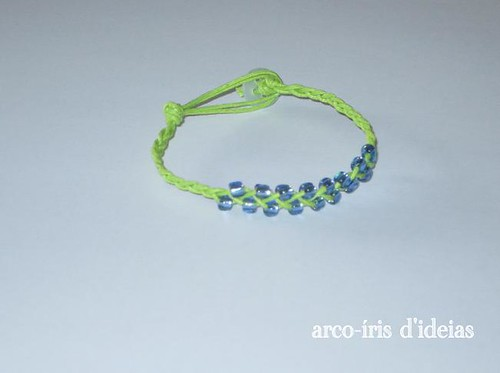 Pulseira Verde e Azul n.º 7