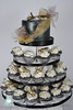 W9137 fireflies in the night sky wedding cake toronto