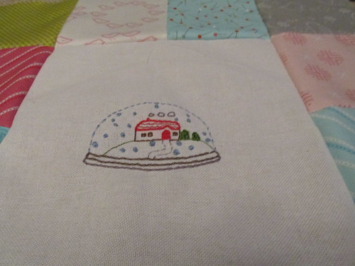 Embroidery from Little Stitches with Sew Stitchy sashing