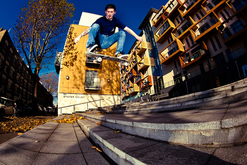 Jake Watt - Ollie Triple Stair