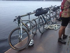 Bike on the Ferry