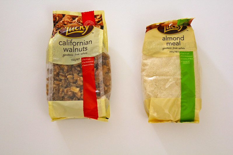 Lucky Nuts Californian Walnuts and Almond Meal