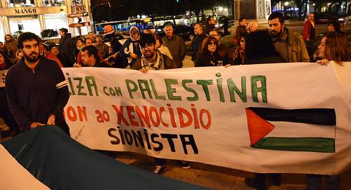 solidariedade com palestina corunha