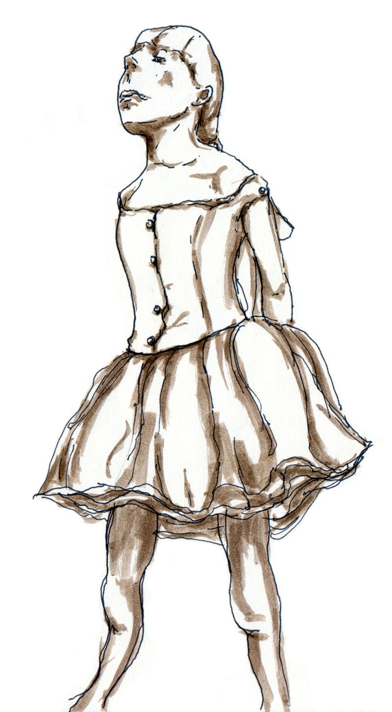 La petite danseuse de quatorze ans - Edgar Degas