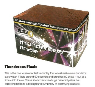 The Thunderous Finale review by Sorted Magazine Nov / Dec 2012