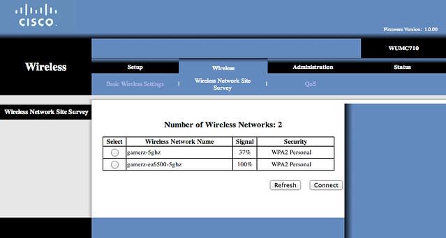 WUMC710 - Setup 1