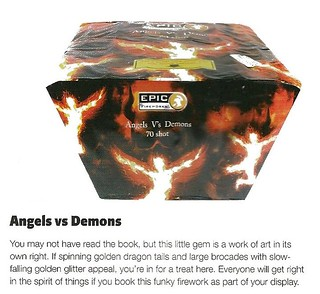 The Angels Vs Demons review by Sorted Magazine Nov / Dec 2012