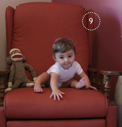 Alice Linda, 9 months