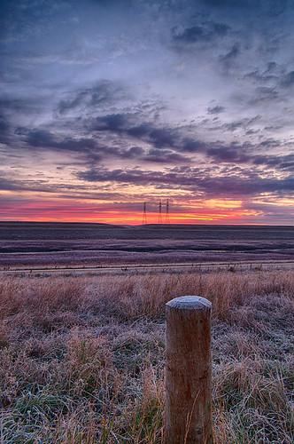 morning sky canada clouds sunrise landscape frost pentax manitoba k20d nelepl