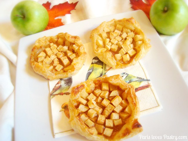 Autumn Spiced Apple Tartlets