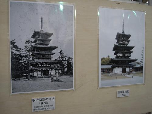 薬師寺東塔修理見学-20