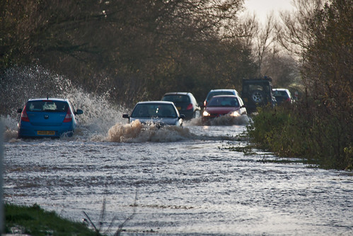 2012年冬天英國的洪水。(來源:Mark Robinson)