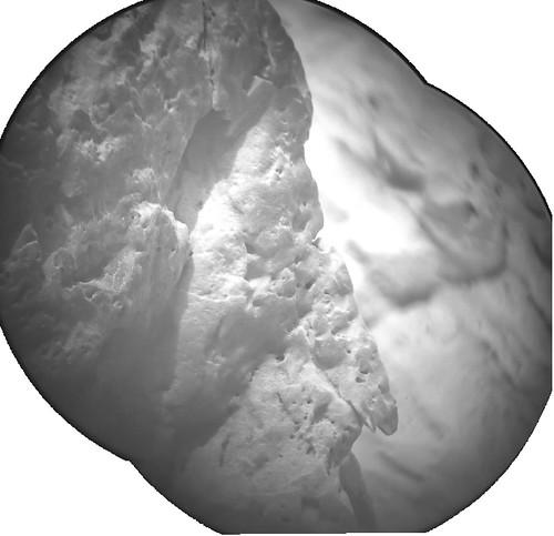 CURIOSITY sol 100 ChemCam