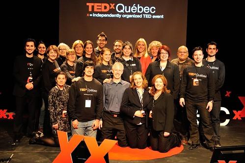 TEDxQuébec 2012 | La merveilleuse équipe de bénévoles