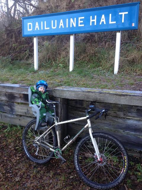 Harry at Dailuaine on the Gryphon