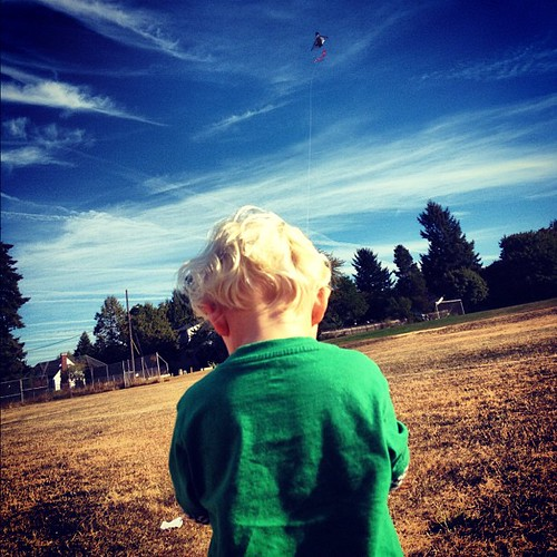 Kite flying. First time!