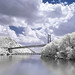 Bear Mountain Bridge In Infrared by Mike Orso