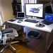 My Desk by Chad Tillekeratne