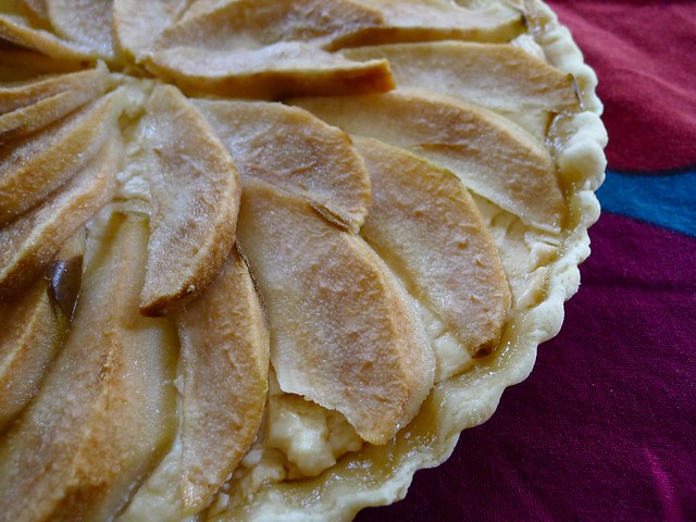 Pear, Goat Cheese, and Honey Tart | Flickr - Photo Sharing!