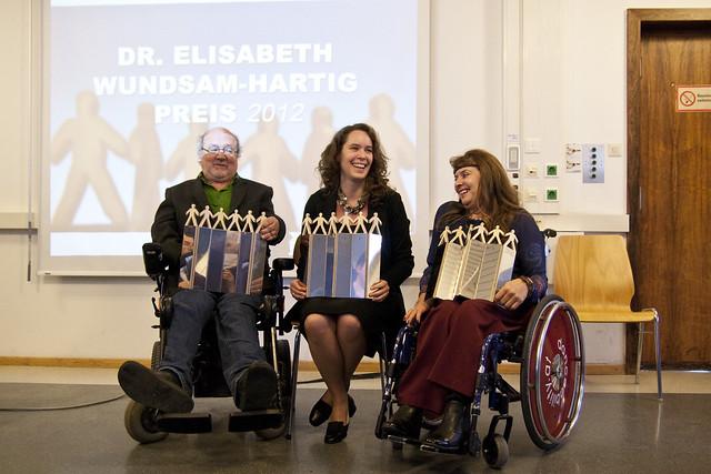 Volker Schönwiese, Marianne Schulze und Vera Rebl