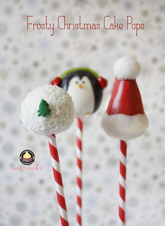 Christmas Wonderland Cake Pops