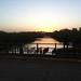 Koto Bridge at dusk by Ed Drewitt