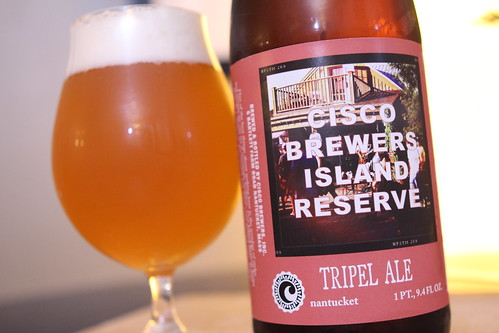 Cisco Brewers Island Reserve Tripel Ale