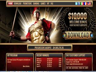 Rome Casino Home