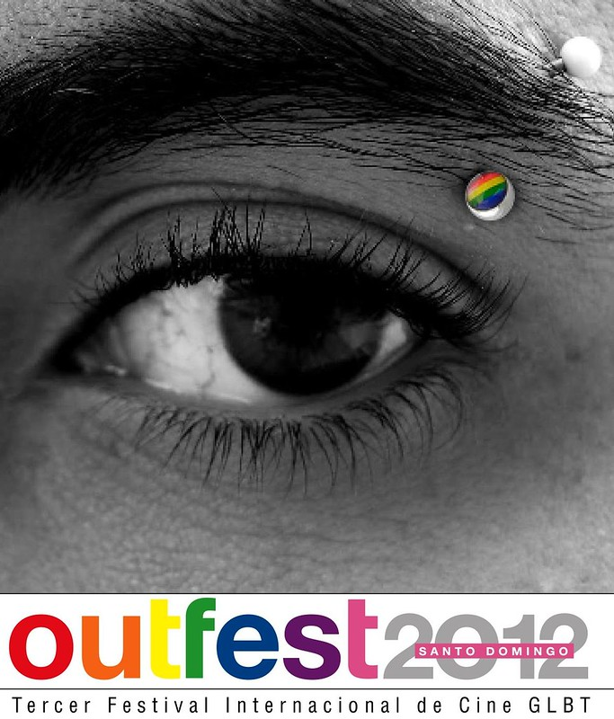 Afiche Festival Cinde Gay OUT FEST 2012