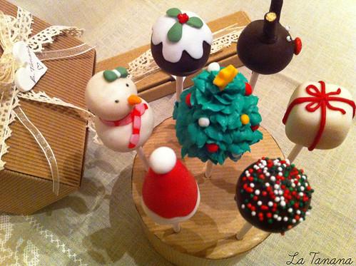 Cake-Pops Navideños