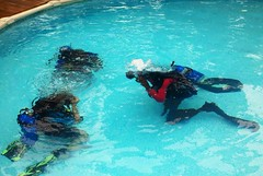 Diving Diving Certification - Pool Instruction