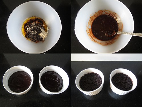 3 Minute Microwave Brownie