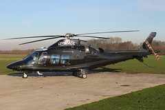 G-MAOL - 2012 build Agusta AW109SP Grand New, visiting Barton
