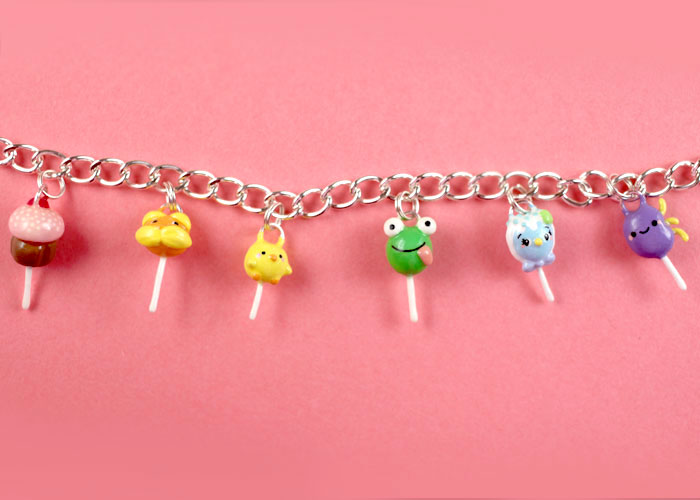 Cake Pop Charms by Oboro Charms