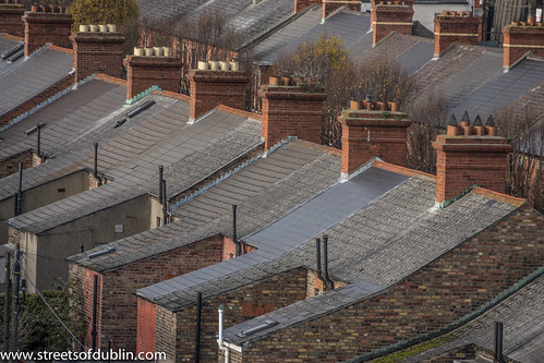 Dublin City North As View From Croke Park by infomatique