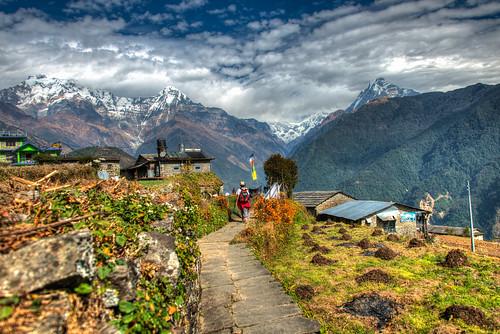 nepal thehimalayas