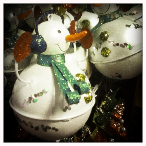 #snowman #ornament is that really his nose?