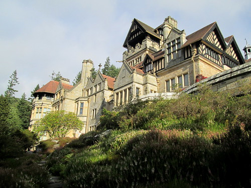 Cragside from below